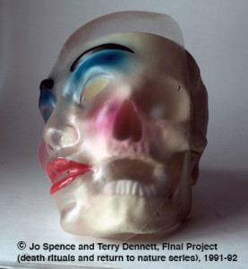 Jo-Spence-Terry-Dennett,-Final-Project-death-rituals-and-return-to-nature-series-1991-92